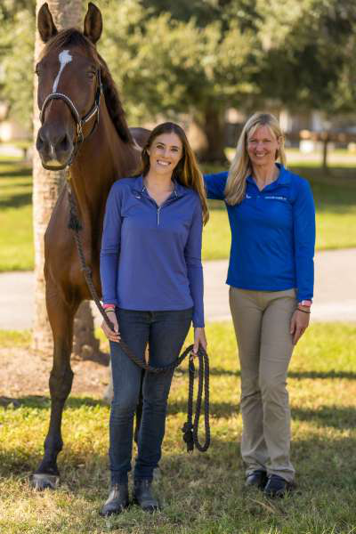 Dr. Morton, Danielle Ammeson and Royal
